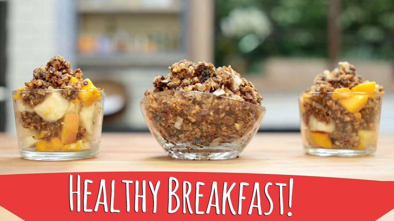 Easy and healthy breakfast raw vegan granola youtube easy and healthy breakfast raw vegan granola forumfinder Gallery