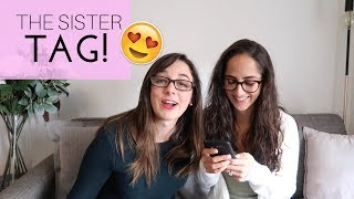 THE SISTER TAG! Study With Jess Vlogs