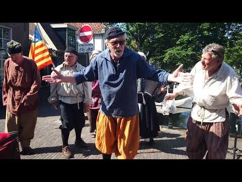 Bevrijding Enkhuizen Visserslied