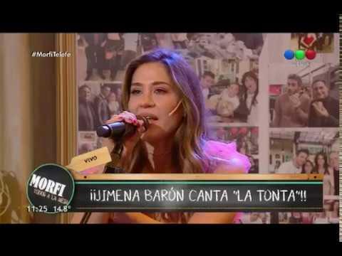 Jimena Baron - La Tonta (Acustico) (MORFI - TELEFE)