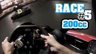 Defending hard, ends in crash! (200cc, Race #5, Euro-Kart Poperinge)