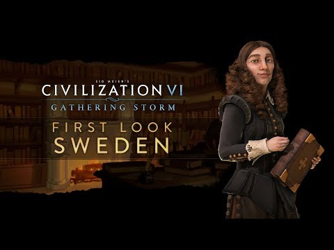 Civilization 6: Gathering Storm's Sweden lets everyone fight over Nobel Prizes
