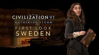 Civilization VI: Gathering Storm - First Look: Sweden (INTL_MULTI)