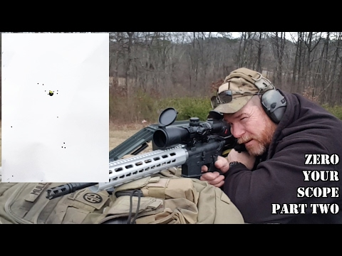 How To Zero a Rifle Scope: Beginners Guide Part Two Range Phase