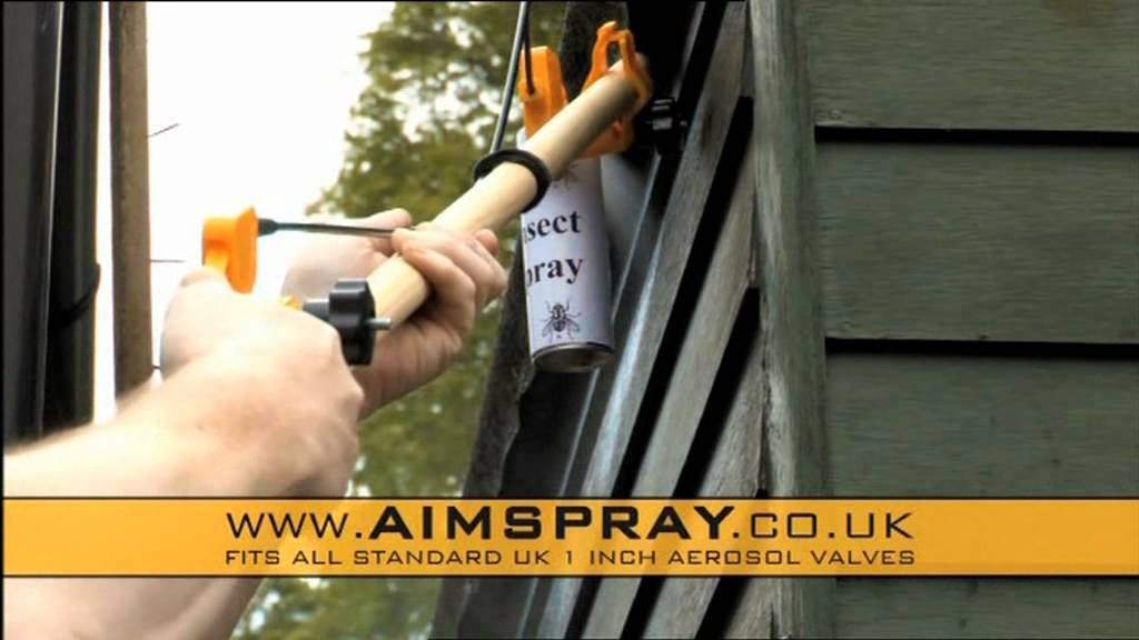 Aimspray Remote Aerosol Spray Extension Extender Youtube