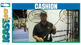Cashion Shad Rap Spinning Rods   ICAST 2017
