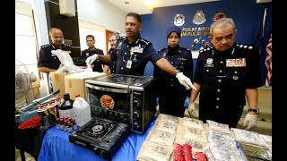 Penang cops smash drug processing syndicate, five arrested