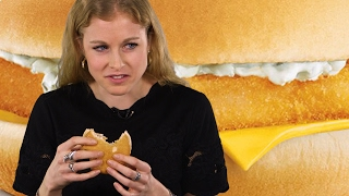Watch millennials try a McDonald's Filet O Fish for the first time
