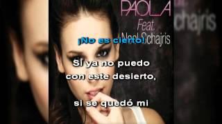 No es cierto - Danna paola ft Noel Schajris  - karaoke- instrumental