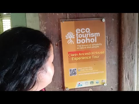 Lester And Chat Show Clarin Ancestral House Tagbilaran Bohol
