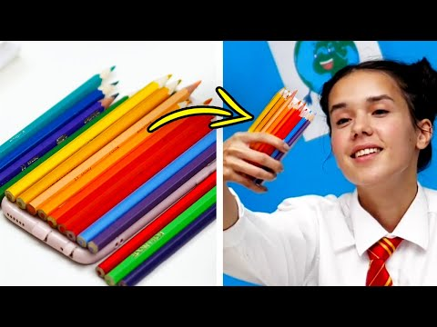 18 FUN DIY IDEAS FOR SCHOOL