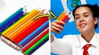 18 FUN DIY IDEAS FOR SCHOOL