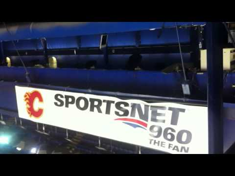 Calgary Hitmen Visiting Broadcast Location at the Scotiabank Saddledome