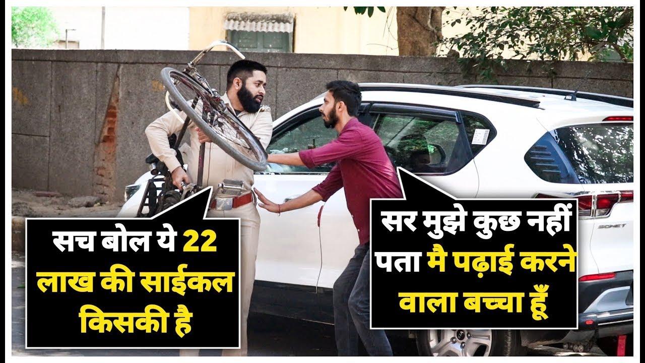 Murder Prank | Sunny Arya | Tehelka Prank