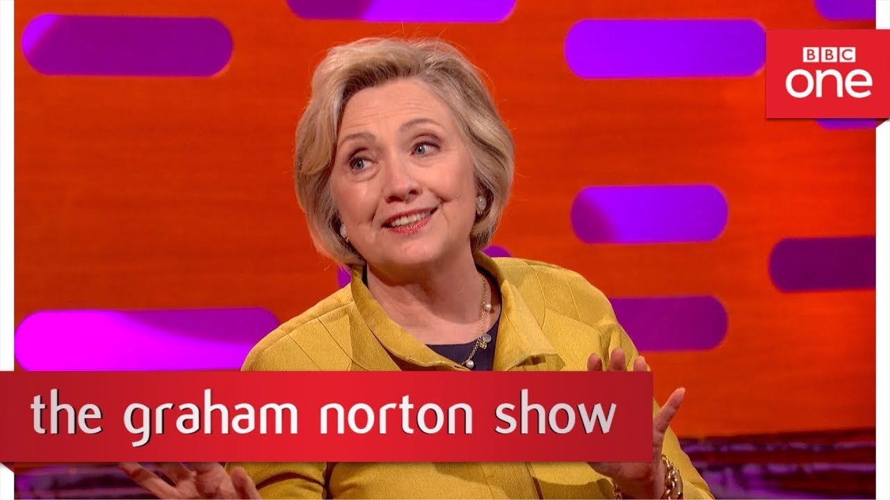 Hillary Clinton didn't want to attend Trump's Inauguration - The Graham Norton Show: 2017