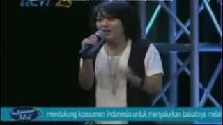 Riska Afrillia (Drizz Gatusia) Gagal di babak eliminasi 1 indonesian idol 2014