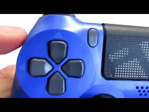 New Wave Blue PS4 Slim/Pro Dualshock 4 V2 Unboxing