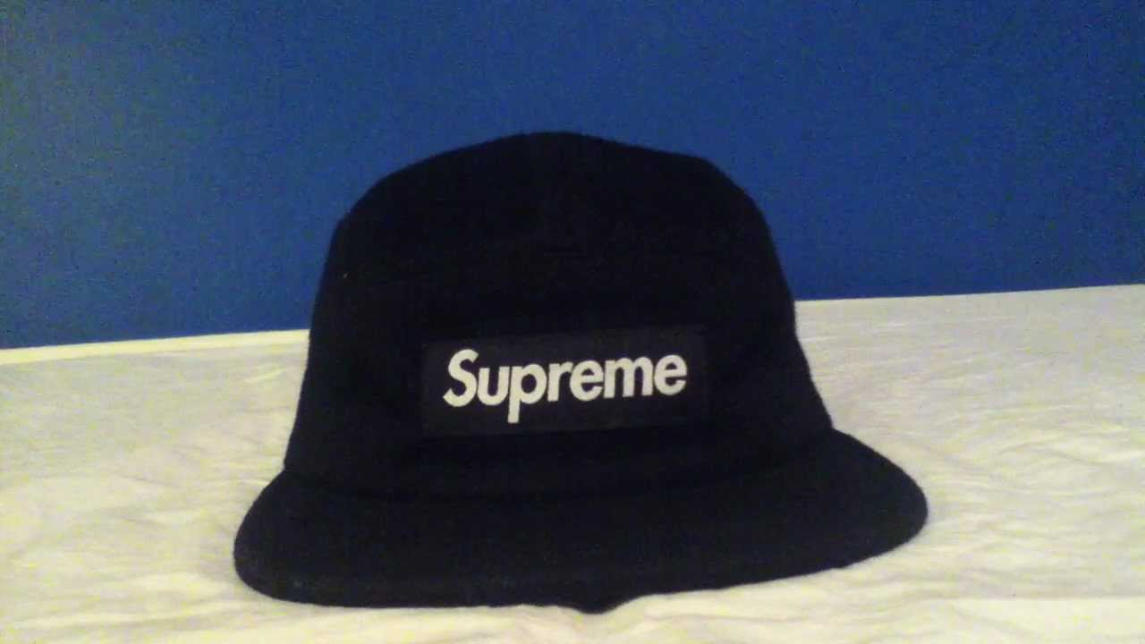 Supreme Loro Piana Camp Cap in Black Review - YouTube 851157baede