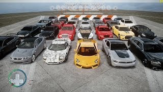 GTA 4 - Top-speed Car Pack 2012 Beta