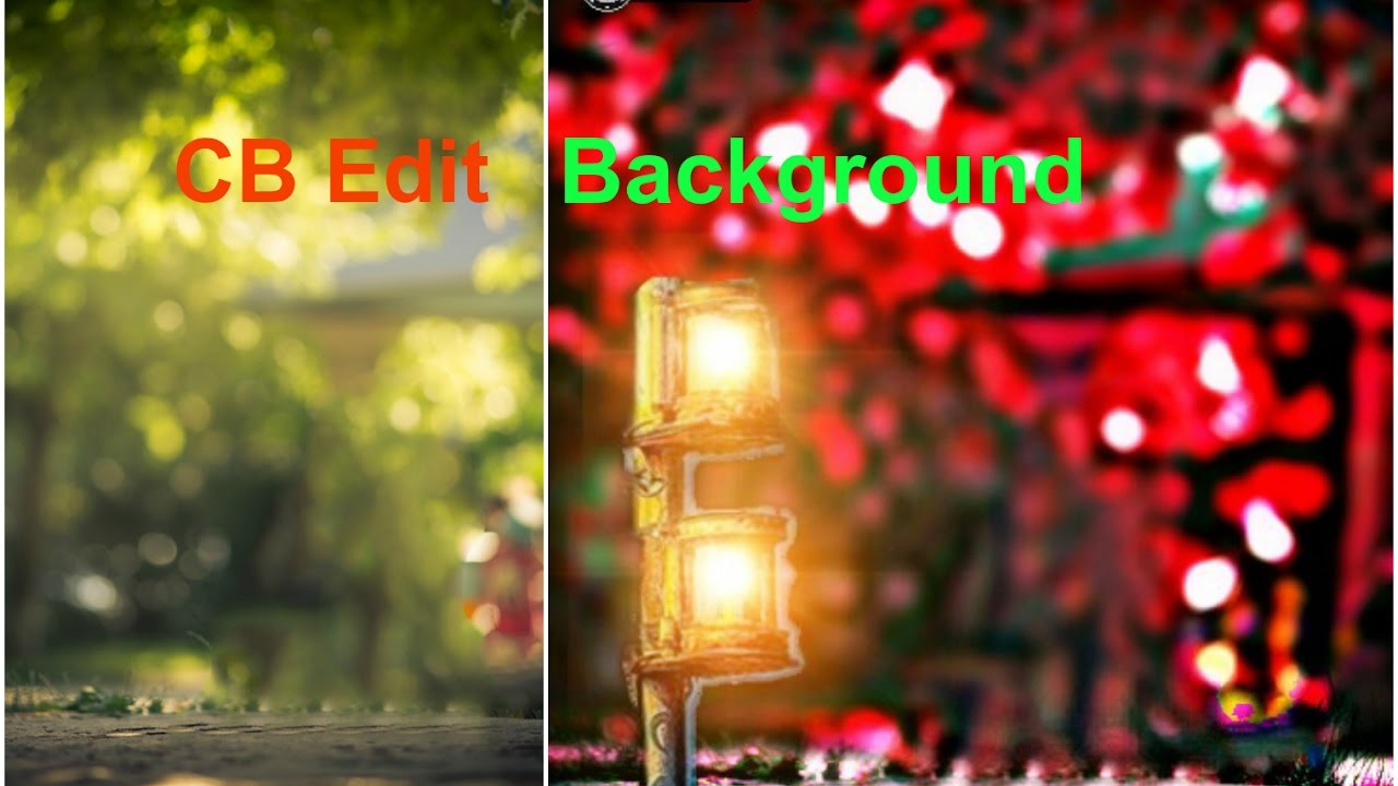How To Make Cb Edit Background In PicsArt