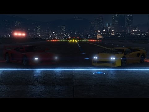 GTA 5 Cinematic Drag Race (Turismo Classic vs. Infernus ALL Versions)