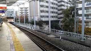 東武鉄道 350系 351F 4両編成  「回送」 とうきょうスカイツリー駅 2番線を通過