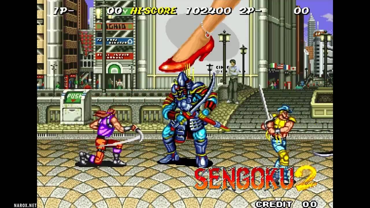Sengoku 2 / attract mode / Neo Geo 1993