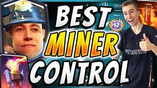 82% WIN RATE! Best Miner Control Deck In Clash Royale!