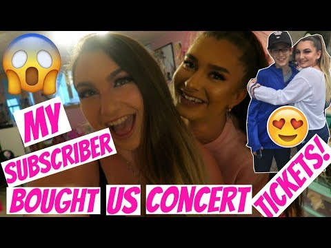 MY SUBSCRIBER BOUGHT ME CONCERT TICKETS! | MILEY CYRUS, NOAH CYRUS, DNCE, & MORE! SUMMER JAM 2017