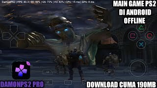Cara Download Dan Install Game God Of War 2 PS2 Di Android | DamonPS2 Pro Emulator