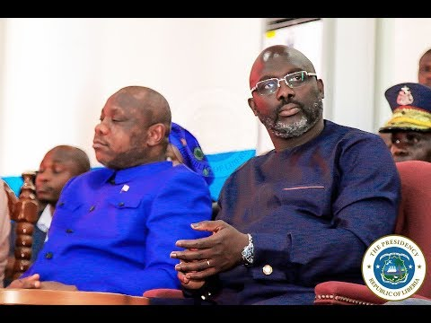President Weah Declares Free Tuitions At Public Universities for Undergraduate Students