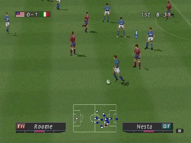 Jouez à Pro Evolution Soccer sur Sony Playstation