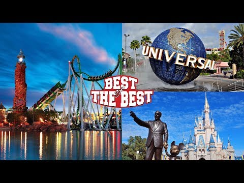 [Top 10] The Best Rides in Universal & Disney World Parks at Orlando