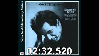 Glenn Gould plays- Bach Chromatic Fantasy, D Minor BWV 903
