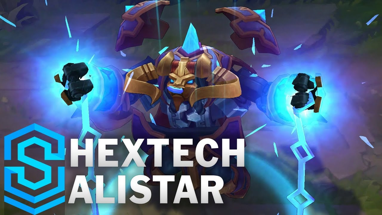 Hextech Alistar Skin Spotlight - League of Legends
