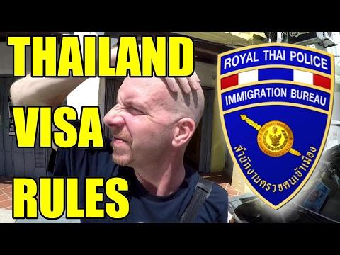 NEW THAILAND VISA RULES 236