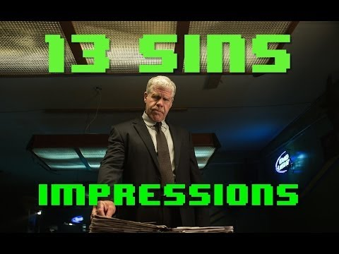 13 Sins Movie Trailer & Impressions