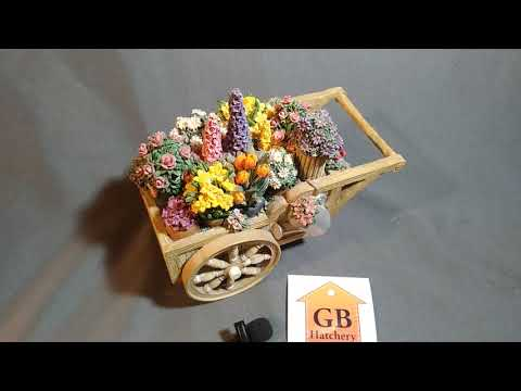 San Francisco Music Box Company - Cart Of Flowers - Plays
