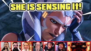 Reactors Reaction To Darth Maul & Ahsoka Sensing ORDER 66 In THE CLONE WARS 7X11 | Mixed Reactions