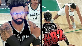 DRIBBLE GAWD PARK COMBOS in the NBA! THIS ISNT FAIR! NBA 2k18 MyCAREER Ep. 82