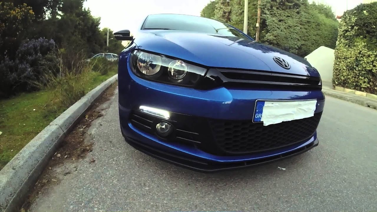 VW Scirocco Dectane DRL [HD] - YouTube