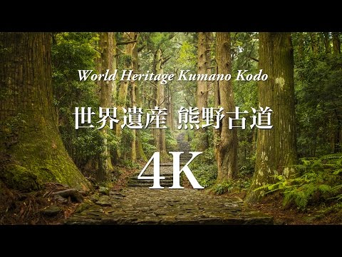 [4K] 世界遺産 絶景 熊野古道 World Heritage Kumanokodo