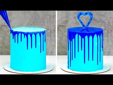 38個迷人的蛋糕裝飾與糖霜上色技巧