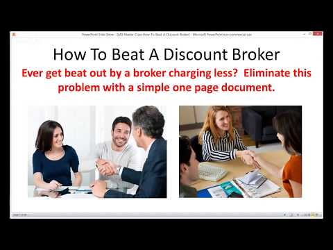 How To Beat A Discount Broker