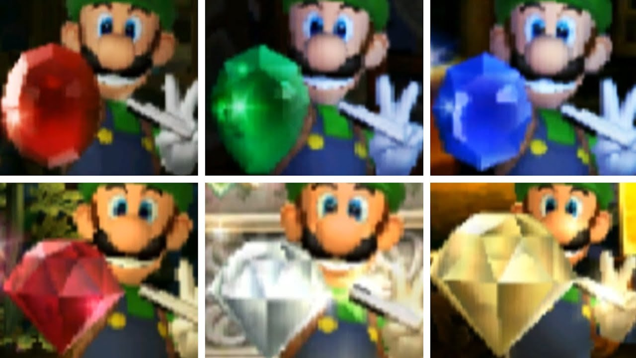 Luigi's Mansion 3 3F gem locations guide and maps