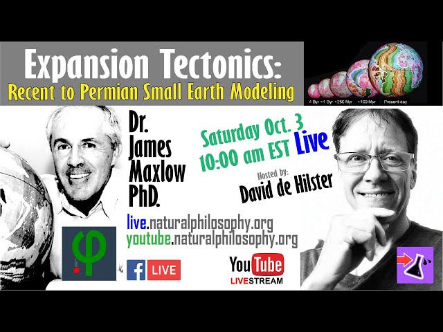 Expansion Tectonics: Dr. Maxlow on Recent to Permian Small Earth Modeling