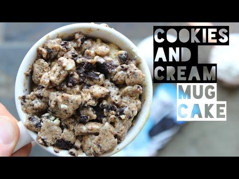 healthy-mug-cake-recipe-|-how-to-make-a-healthy-cookies-and-cream-protein-mug-cake