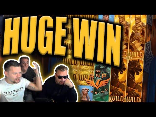 Huge Win on Age Of Asgard Slot (Ragnarok Free Spins) - Casino Stream Big Wins