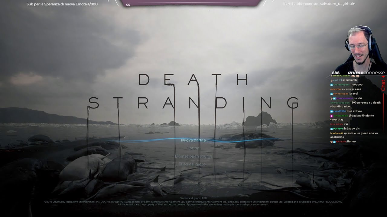 """L'Anima della Scoperta+"" - Death Stranding PC w/Sabaku, Analysis & ""NG+"" #1"