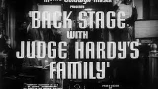 The Andy Hardy Film Collection: Volume 2 (Back Stage with Judge Hardy's Family)